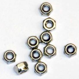 Picture of M3 Stainless Nyloc Nuts Pack Of 10