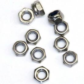 Picture of M5 Stainless Nyloc Nuts Pack Of 10