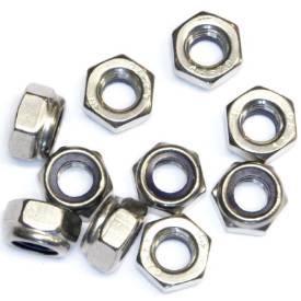 Picture of M8 Stainless Nyloc Nuts Pack Of 10