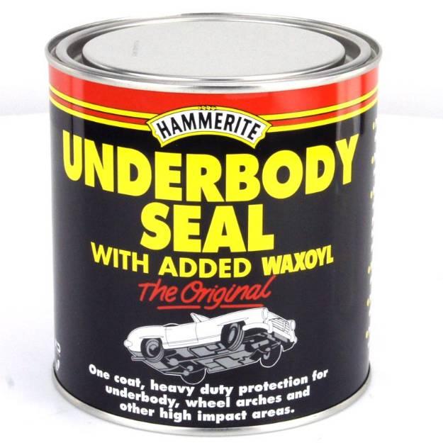 Picture of Hammerite Waxoyl Underbody Seal 1 Litre Black