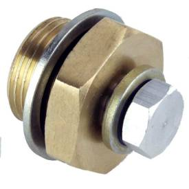 Picture of Brass Adapter M20 - M10 x 1mm With Plug