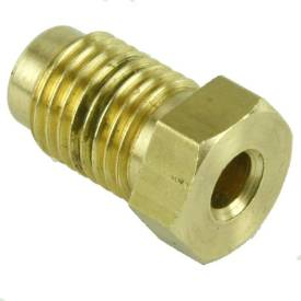 """Picture of Brass 7/16"""" Male Union For 3/16 Pipe"""