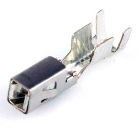 Picture of Single Female Terminal For Mini Fuse Module 2.5mm to 4mm Wire