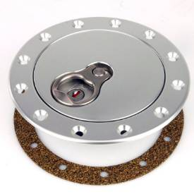 Picture of 139mm Tank Mounting Locking Aero Fuel Cap Assembly Satin