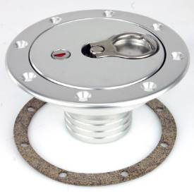 Picture of 126mm Locking Aero Fuel Cap and Neck Assembly Satin