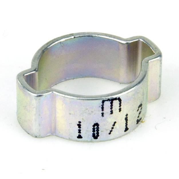 Picture of 10 mm bis 12 mm vergoldeter Stahl-O-Clip, einzeln erhältlich
