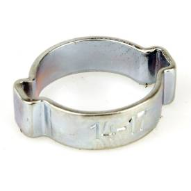 Picture of 14mm to 17mm Plated Steel O Clip Sold Singly