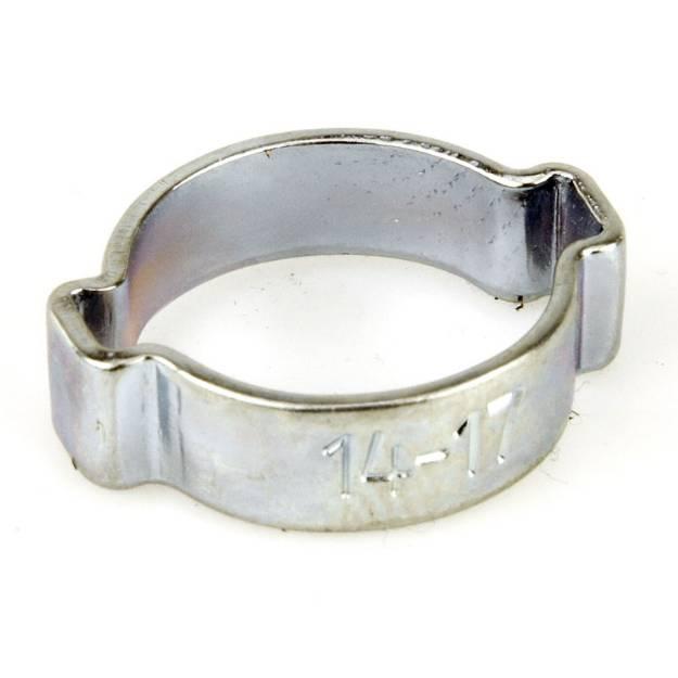 Picture of 14 mm bis 17 mm vergoldeter Stahl-O-Clip, einzeln erhältlich