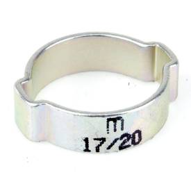 Picture of 17mm to 20mm Plated Steel O Clip Sold Singly