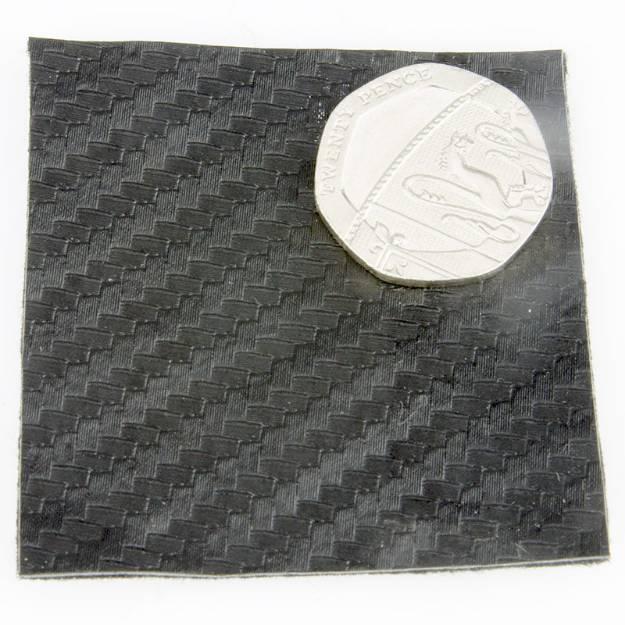 Picture of Carbon-Effekt-Vinyl-Tuch pro Meter