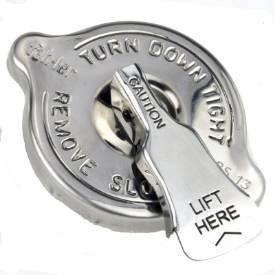 Bild von Edelstahl 15lb Druckentlastungskühlerdeckel