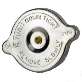 Bild von Edelstahl Kühlerdeckel Gummidichtungen 7lb