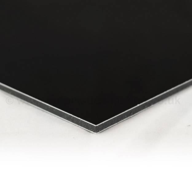 Picture of Black Aluminium Composite Sheet Per 300mm