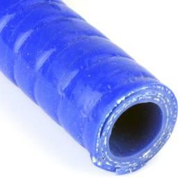 Bild von Gewickelter Silikonschlauch 16mm ID Blau