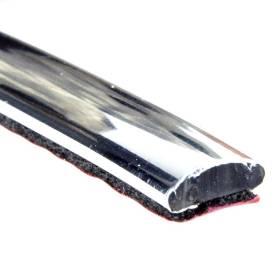 Bild von 8mm x 3mm Flache Chromleiste