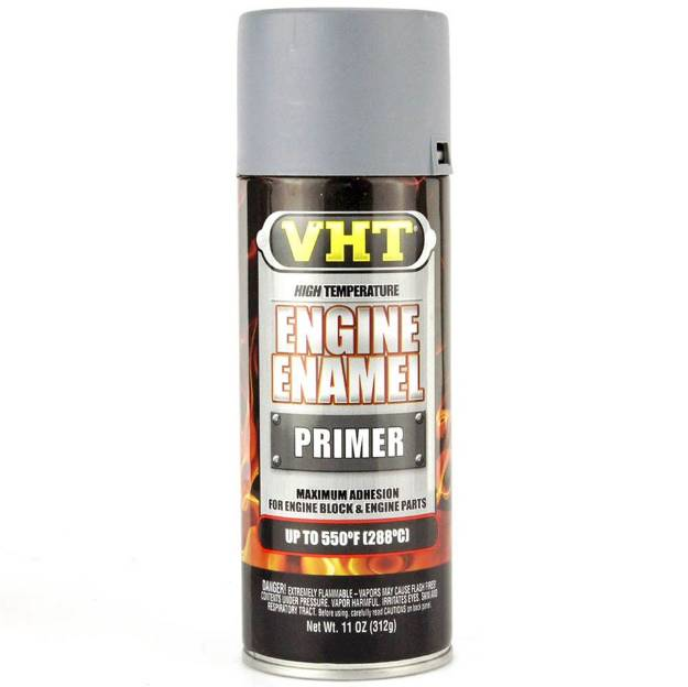 Picture of VHT Grey Primer Engine Enamel Paint Aerosol