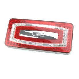 Picture of LED Rectangular Rear Light Stop/Tail/Indicator/Rear Fog/Reverse 224mm Pair