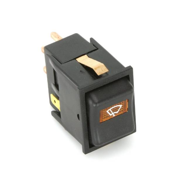 Picture of IVA Rocker Switch Amber 2 Speed Wiper