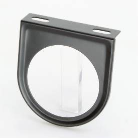 Picture of Steel Flat Gauge Panel Single Black