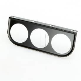 Picture of Steel Flat Gauge Panel Triple Black