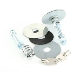 Picture of Stainless steel Chrome Locking Bonnet Pin Kit