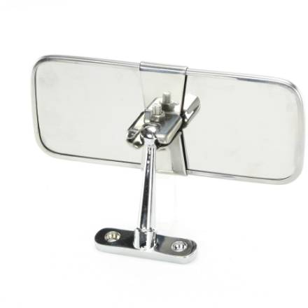 chrome-and-stainless-pedestal-interior-mirror-147mm