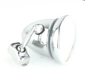 Picture of Chrome Clip-On Bullet Mirror 100mm
