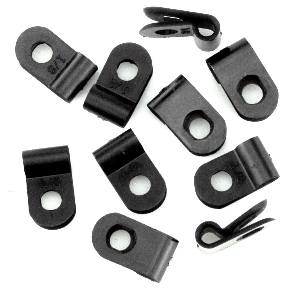 3mm P Clips Nylon Pack Of 10 Car Builder Solutions