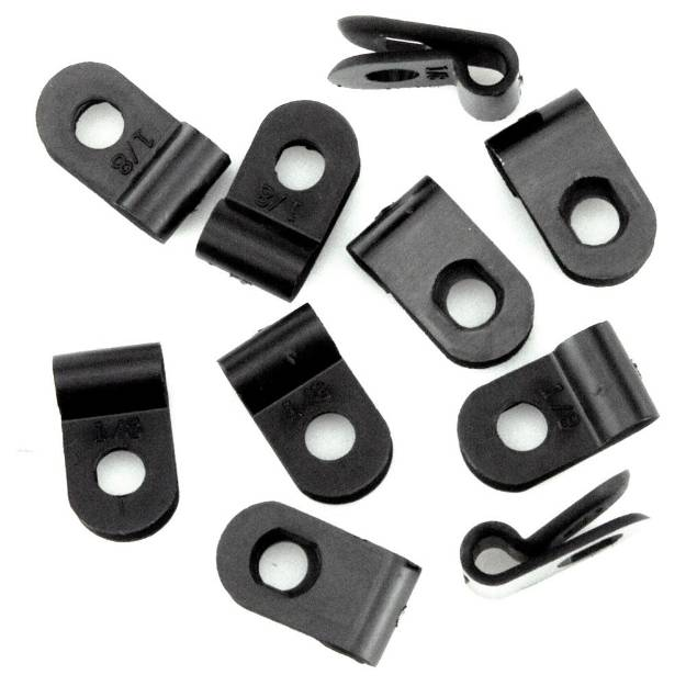 Picture of 3mm P-Clips Nylon 10er Packung