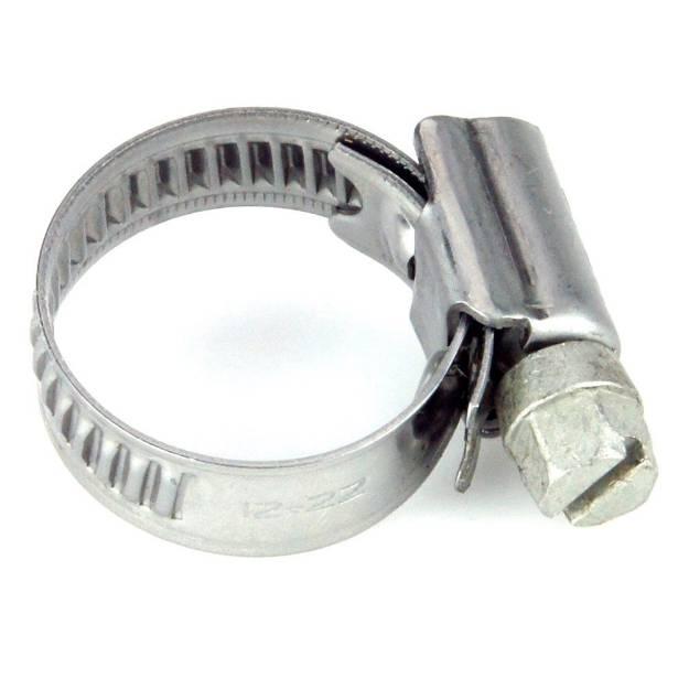 Picture of 12 - 22mm Edelstahlschlauchschelle mit schmalem Band, einzeln erhältlich
