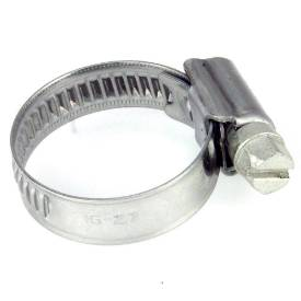 Picture of 16 - 27mm Narrow Band Stainless Steel Hose Clip Sold Singly