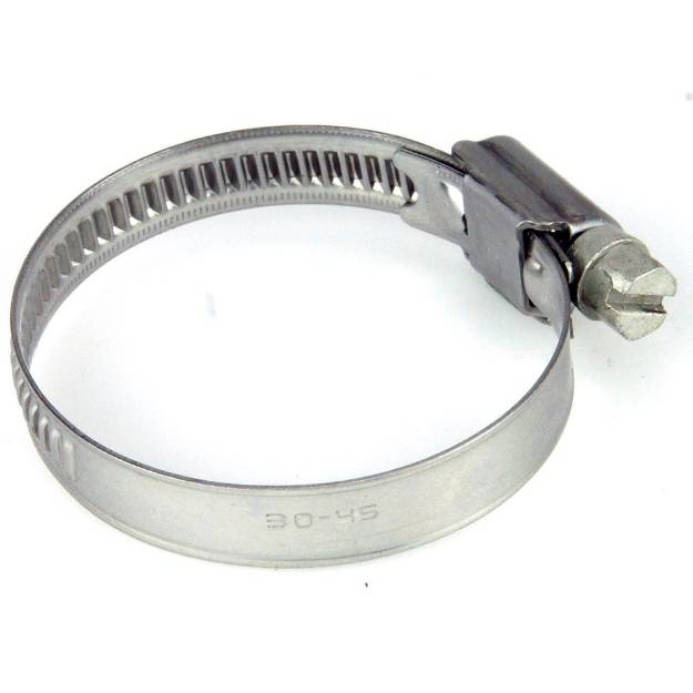 Picture of 30 - 45mm Narrow Band Stainless Steel Hose Clip Sold Singly