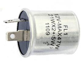 Picture of Flasher Relay 2 Pin 47 Watt Load