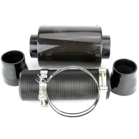 Picture of Remote Carbon Fibre Canister Air Filter 200mm Long