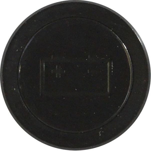 Flush Bezel Black Led Warning Light Battery Ignition Car