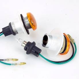 Picture of Oval Indicators/Side Repeaters 37mm x 29mm AMBER
