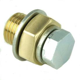 Picture of Brass Drain Plug Adapter M14 and M10