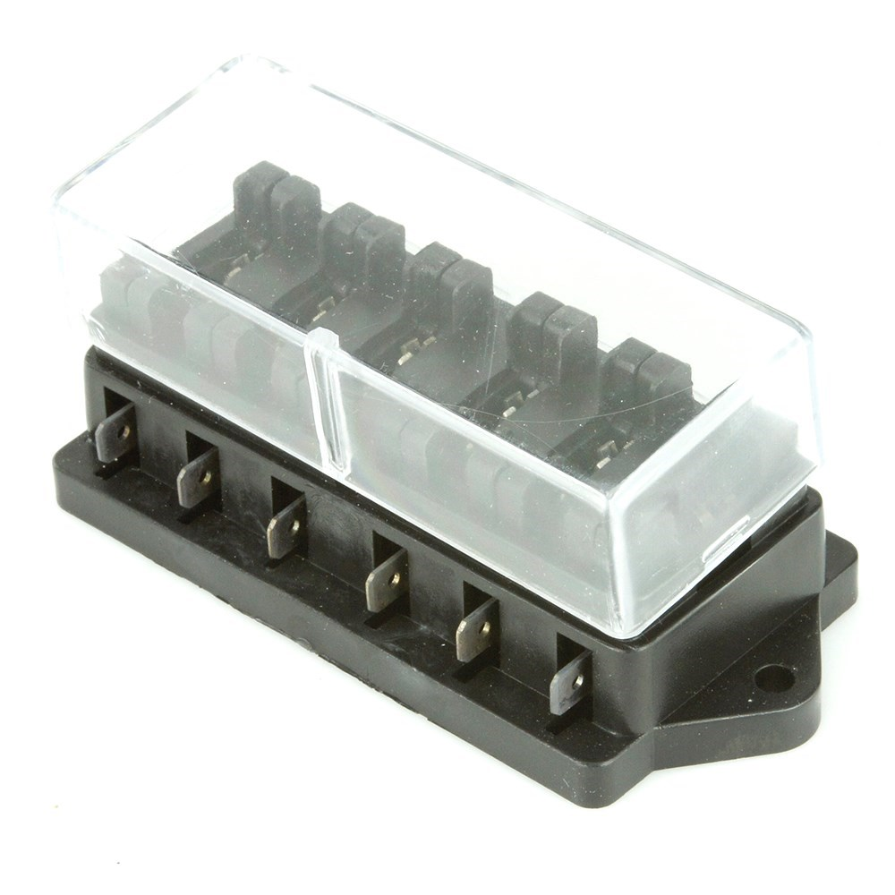 6 Way Blade Fuse Box Side Entry Car Builder Solutions Kit