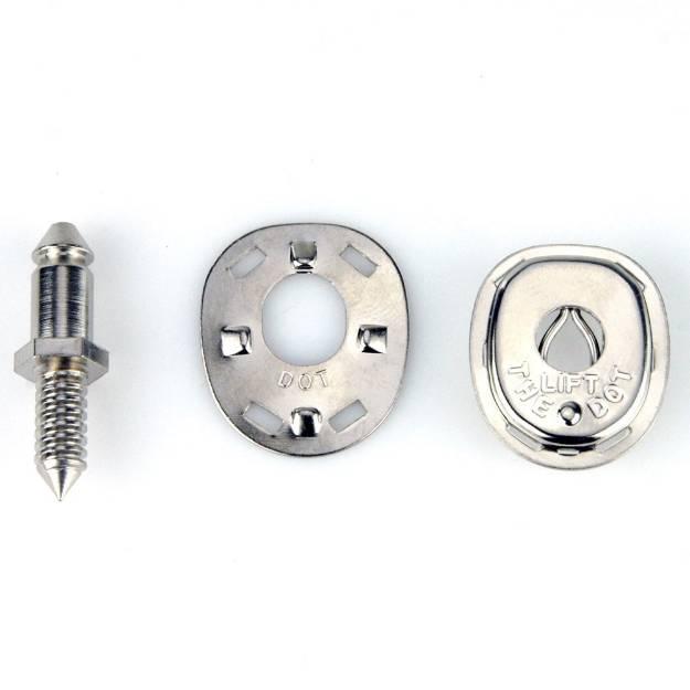Picture of Heben Sie die Punktbefestigungen an, 5 mm, 5 Stück, mit Schraubbefestigung