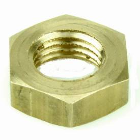 """Picture of Brass 3/8"""" UNF Half Nut"""