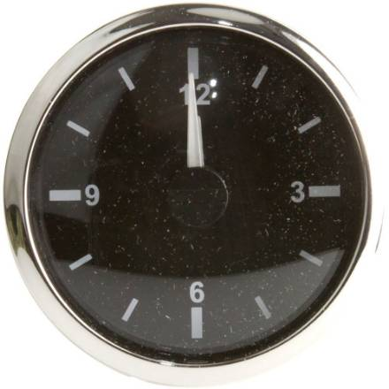 quartz-clock-chrome-bezel