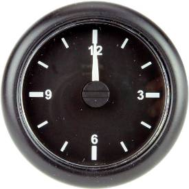 Picture of Quartz Clock Black Bezel