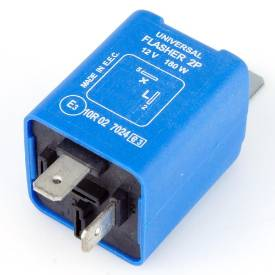 Picture of 2 Pin Electronic Flasher Relay 180 Watt Max