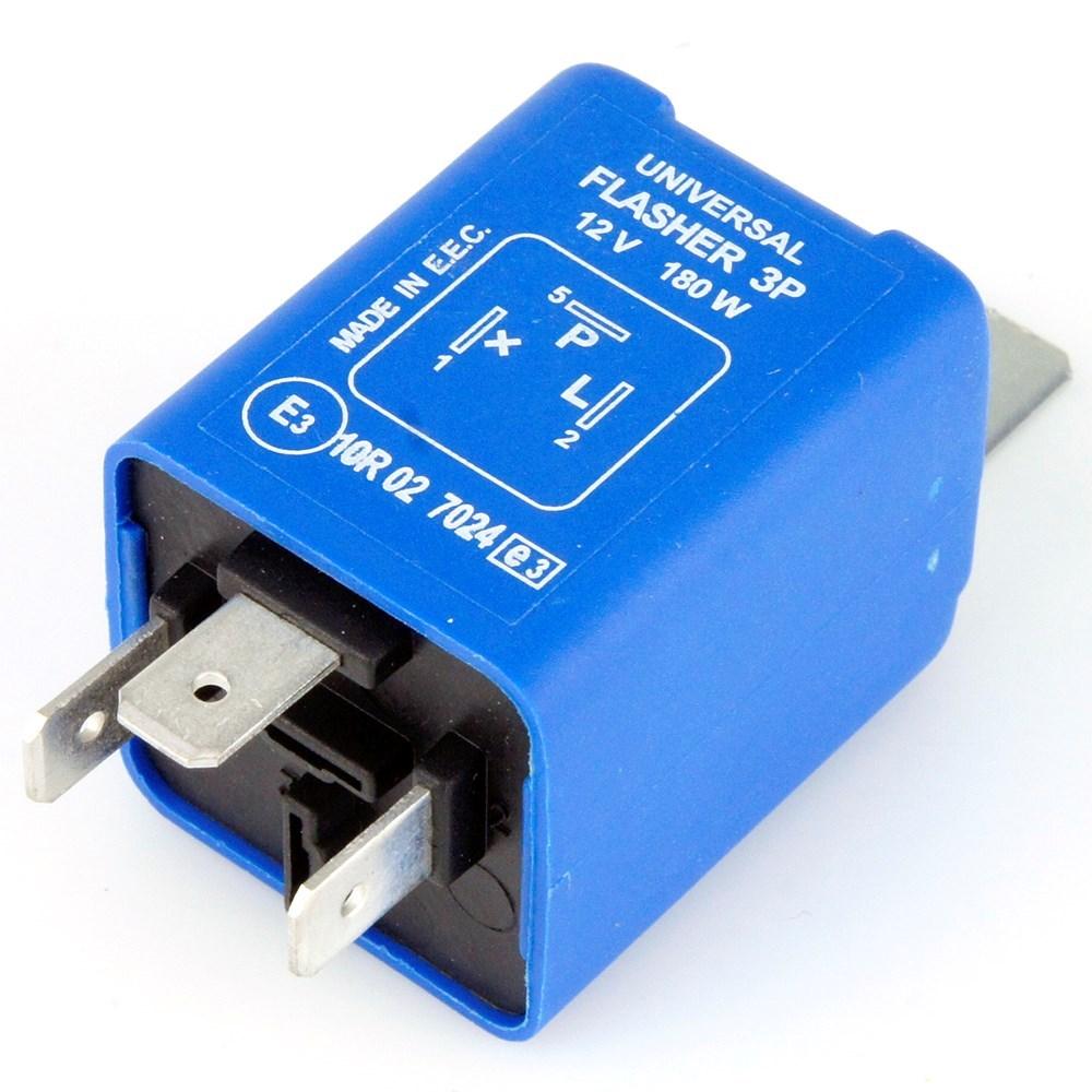 3 Pin Electronic Flasher Relay 180 Watt Max Car Builder Solutions 2