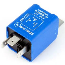 Picture of 3 Pin Electronic Flasher Relay 180 Watt Max