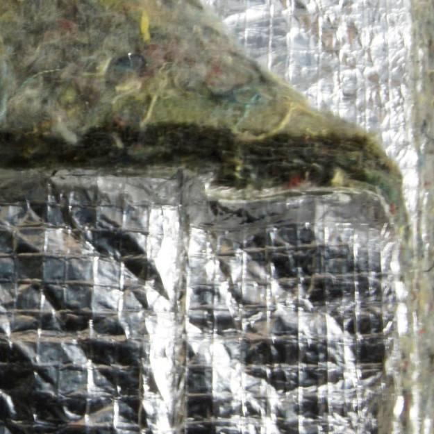 Picture of Filzunterlage mit Aluminiumhaut pro Meter