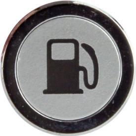 Picture of Flush Bezel Chrome LED Warning Light FUEL