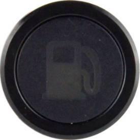 Bild von Unterputzblende LED-Warnleuchte, schwarz KRAFTSTOFF