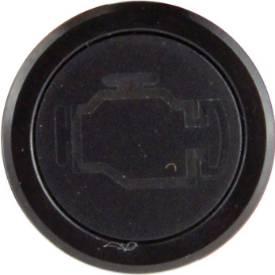Bild von Unterputz-LED-Warnleuchte ENGINE, schwarz