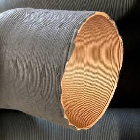 Bild von Classic Style Paper Covered Aluminium Ducting 80mm I.D.
